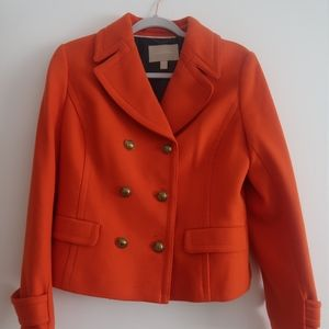 Banana Republic Orange Peacoat